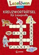 Cover-Bild zu Loewe Lernen und Rätseln (Hrsg.): Leselöwen Kreuzworträtsel für Leseprofis - 2. Klasse (Rot)