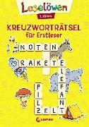 Cover-Bild zu Loewe Lernen und Rätseln (Hrsg.): Leselöwen Kreuzworträtsel für Erstleser - 1. Klasse (Gelb)