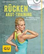 Cover-Bild zu Rücken-Akut-Training (mit DVD) von Froböse, Ingo