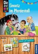 Cover-Bild zu Die drei !!!, Einsatz im Pferdestall (drei Ausrufezeichen) (eBook) von Erlhoff, Kari