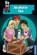 Cover-Bild zu Die drei !!!, 86, Rätselhafter Raub (drei Ausrufezeichen) (eBook) von Sol, Mira