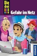Cover-Bild zu Die drei !!!, 68, Gefahr im Netz (drei Ausrufezeichen) (eBook) von Erlhoff, Kari