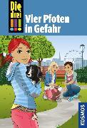 Cover-Bild zu Die drei !!!, 79, Vier Pfoten in Gefahr (drei Ausrufezeichen) (eBook) von Sol, Mira