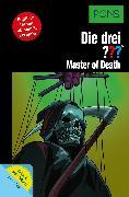 Cover-Bild zu PONS Die drei ??? Fragezeichen Master of Death mit Audio (eBook) von Erlhoff, Kari