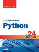 Cover-Bild zu Python in 24 Hours, Sams Teach Yourself von Cunningham, Katie