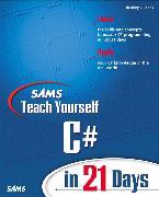 Cover-Bild zu Sams Teach Yourself C# in 21 Days von Jones, Bradley L.