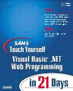 Cover-Bild zu Sams Teach Yourself Visual Basic .NET Web Programming in 21 Days von Aitken, Peter