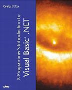 Cover-Bild zu Programmer's Introduction to Visual Basic.NET, A von Utley, Craig