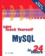 Cover-Bild zu Sams Teach Yourself MySQL in 24 Hours von Meloni, Julie C.