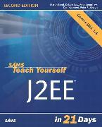 Cover-Bild zu Sams Teach Yourself J2EE in 21 Days von Bond, Martin