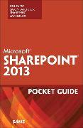 Cover-Bild zu Microsoft SharePoint 2013 Pocket Guide von Curry, Ben