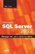 Cover-Bild zu Microsoft SQL Server 2012 Management and Administration von Seenarine, Shirmattie