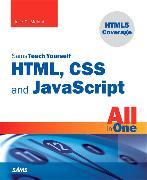 Cover-Bild zu Sams Teach Yourself HTML, CSS, and JavaScript All in One von Meloni, Julie C.