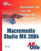 Cover-Bild zu Sams Teach Yourself Macromedia Studio MX 2004 All In One von Ray, John