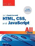 Cover-Bild zu HTML, CSS, and JavaScript All in One von Meloni, Julie C.