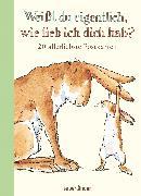 Cover-Bild zu Weißt du eigentlich, wie lieb ich dich hab? Postkartenbuch von McBratney, Sam
