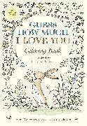 Cover-Bild zu Guess How Much I Love You Coloring Book von Mcbratney, Sam