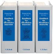 Cover-Bild zu Handbuch des öffentlichen Baurechts - Handbuch des öffentlichen Baurechts von Hoppenberg, Michael (Hrsg.)