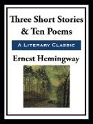 Cover-Bild zu Three Short Stories & Ten Poems (eBook) von Hemingway, Ernest