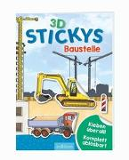 Cover-Bild zu Coenen, Sebastian (Illustr.): 3D-Stickys Baustelle