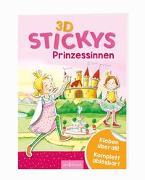 Cover-Bild zu Theissen, Petra (Illustr.): 3D-Stickys Prinzessinnen