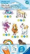 Cover-Bild zu Broska, Elke (Illustr.): tiptoi® CREATE Sticker Pferde und Einhörner