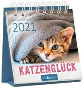 Cover-Bild zu Miniwochenkalender Katzenglück 2021