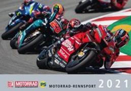 Cover-Bild zu Motorrad-Rennsport-Kalender 2021