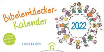 Cover-Bild zu Bibelentdeckerkalender 2022 von Lienhart, Andrea (Illustr.)