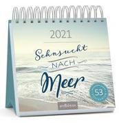 Cover-Bild zu Postkartenkalender Sehnsucht nach Meer 2021