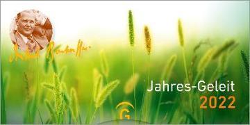 Cover-Bild zu Jahres-Geleit 2022 von Bonhoeffer, Dietrich