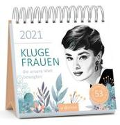 Cover-Bild zu Postkartenkalender Kluge Frauen 2021