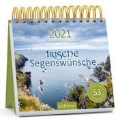 Cover-Bild zu Postkartenkalender Irische Segenswünsche 2021
