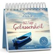 Cover-Bild zu Postkartenkalender 365 Tage Gelassenheit 2021
