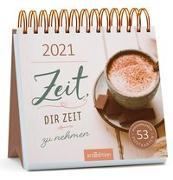Cover-Bild zu Postkartenkalender Zeit, dir Zeit zu nehmen 2021