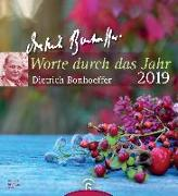 Cover-Bild zu Worte durch das Jahr 2019 von Bonhoeffer, Dietrich