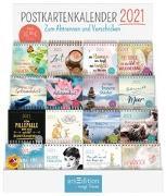 Cover-Bild zu Display Postkartenkalender 2021