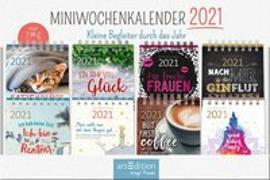 Cover-Bild zu Display Miniwochenkalender 2021