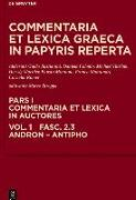 Cover-Bild zu Esposito, Elena (Hrsg.): Andron, Antimachus, Antiphon (eBook)