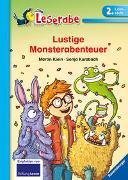 Cover-Bild zu Klein, Martin: Lustige Monsterabenteuer - Leserabe 2. Klasse - Erstlesebuch für Kinder ab 7 Jahren