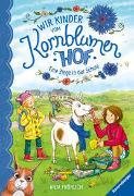 Cover-Bild zu Fröhlich, Anja: Wir Kinder vom Kornblumenhof, Band 4: Eine Ziege in der Schule