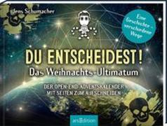 Cover-Bild zu Schumacher, Jens: Du entscheidest! Das Weihnachts-Ultimatum. Das Original: Der Open-end-Adventskalender von Jens Schumacher - für alle Fans von Escape-Spielen
