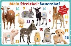Cover-Bild zu Mein Streichel-Bauernhof. Adventskalender mit Fühlelementen