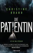 Cover-Bild zu Brand, Christine: Die Patientin