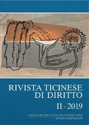 Cover-Bild zu Borghi, Marco (Hrsg. Koord.): Rivista ticinese di diritto II-2019