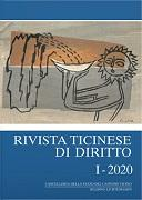 Cover-Bild zu Borghi, Marco (Hrsg. Koord.): Rivista ticinese di diritto I-2020
