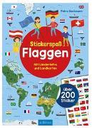 Cover-Bild zu Stickerspaß Flaggen von Bachmann, Petra