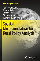 Cover-Bild zu O'Donoghue, Cathal (Hrsg.): Spatial Microsimulation for Rural Policy Analysis