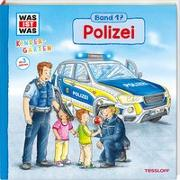 Cover-Bild zu WAS IST WAS Kindergarten Band 17. Polizei von Schreuder, Benjamin