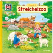 Cover-Bild zu WAS IST WAS Kindergarten, Band 6. Streichelzoo von Döring, Hans-Günther
